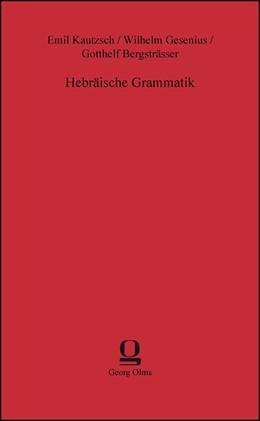 Abbildung von Gesenius | Hebräische Grammatik | 2013