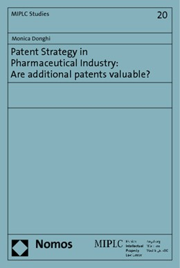 Abbildung von Donghi | Patent Strategy in Pharmaceutical Industry: Are additional patents valuable? | 2014 | 20