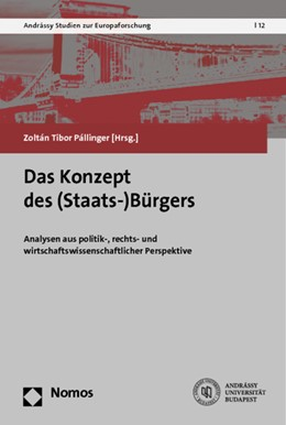 Abbildung von Pállinger (Hrsg.) | Das Konzept des (Staats-)Bürgers | 1. Auflage | 2014 | 12 | beck-shop.de