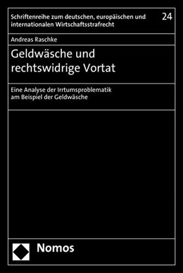 Abbildung von Raschke | Geldwäsche und rechtswidrige Vortat | 1. Auflage | 2014 | 24 | beck-shop.de