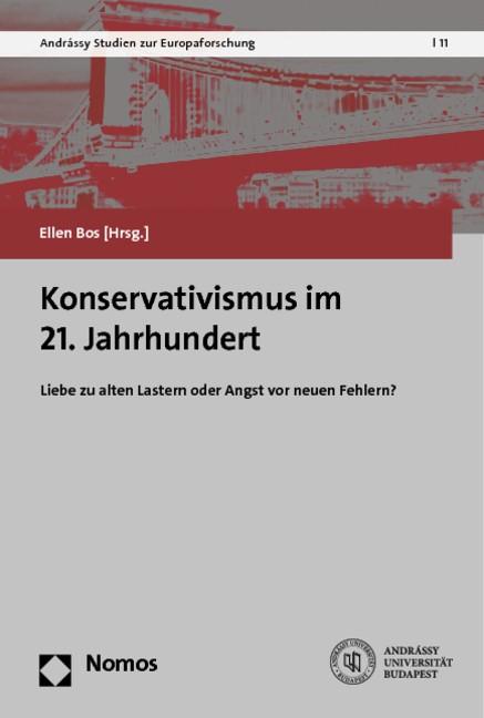 Konservativismus im 21. Jahrhundert | Bos, 2014 | Buch (Cover)