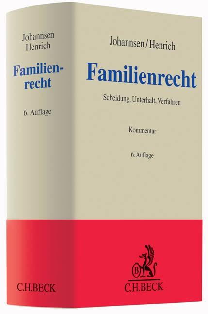 Familienrecht | Johannsen / Henrich | 6., überarbeitete und erweitere Auflage, 2014 | Buch (Cover)