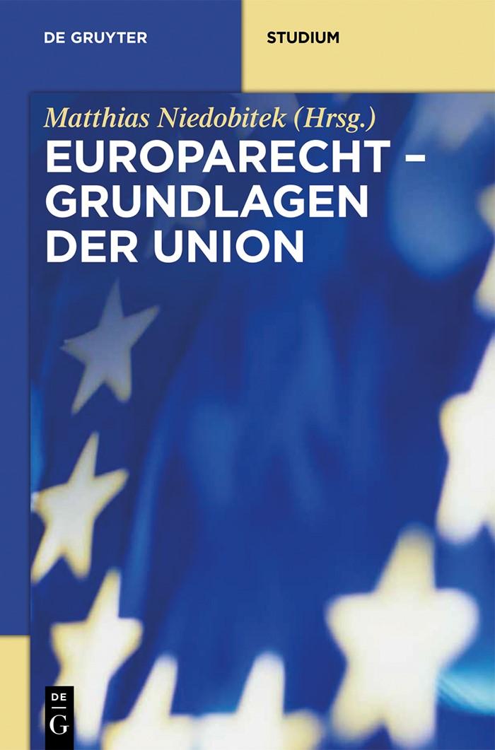 Europarecht – Grundlagen der Union | Niedobitek, 2014 | Buch (Cover)