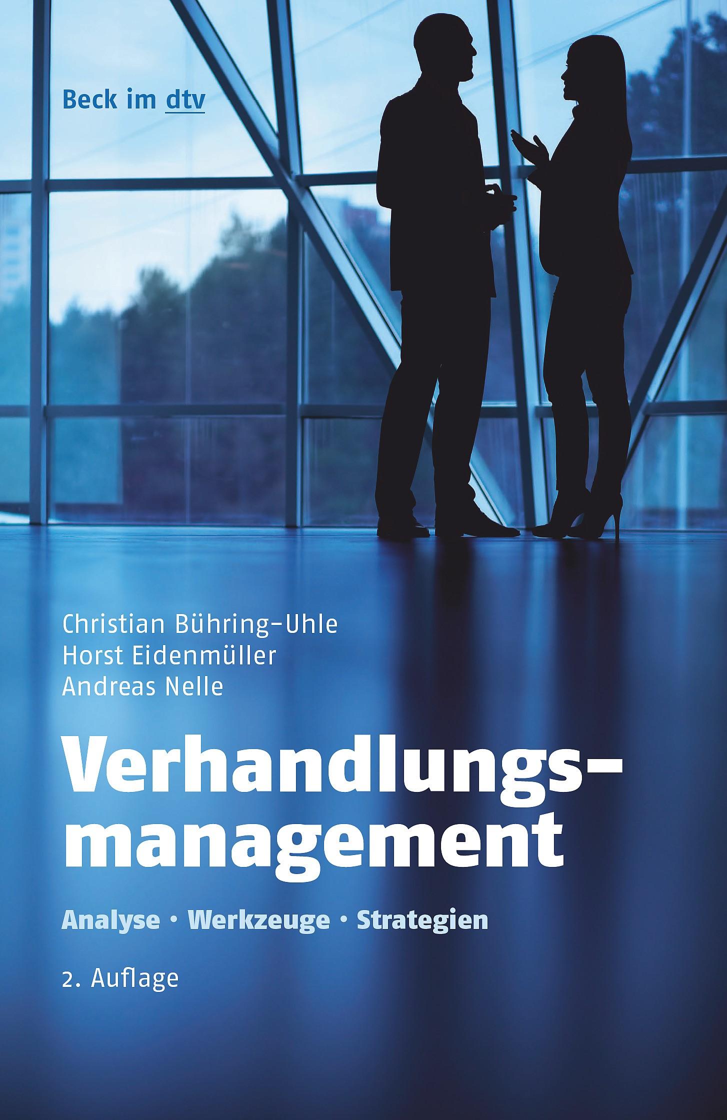 Verhandlungsmanagement | Bühring-Uhle / Eidenmüller / Nelle | 2. Auflage, 2017 | Buch (Cover)
