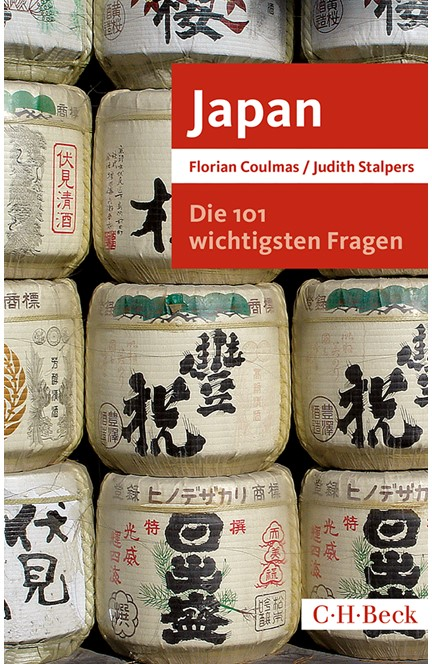 Cover: Florian Coulmas|Judith Stalpers, Die 101 wichtigsten Fragen: Japan
