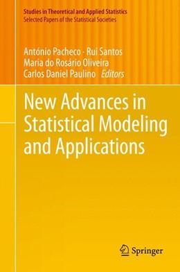 Abbildung von Pacheco / Santos   New Advances in Statistical Modeling and Applications   1. Auflage   2014   beck-shop.de