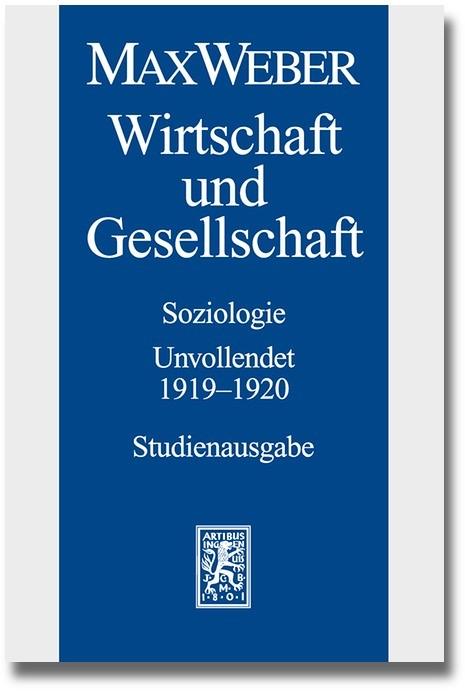 Max Weber-Studienausgabe | Borchardt / Hanke / Schluchter, 2014 | Buch (Cover)