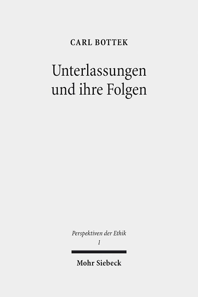 Unterlassungen und ihre Folgen | Bottek, 2014 | Buch (Cover)