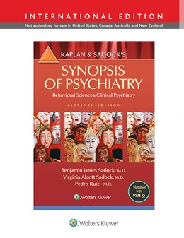 Abbildung von Sadock / Sadock   Kaplan and Sadock's Synopsis of Psychiatry: Behavioral Science/Clinical Psychiatry   11. Auflage   2014   beck-shop.de