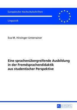 Abbildung von Hirzinger-Unterrainer | Eine sprachenübergreifende Ausbildung in der Fremdsprachendidaktik aus studentischer Perspektive | 2013 | Das «Innsbrucker Modell der Fr... | 382