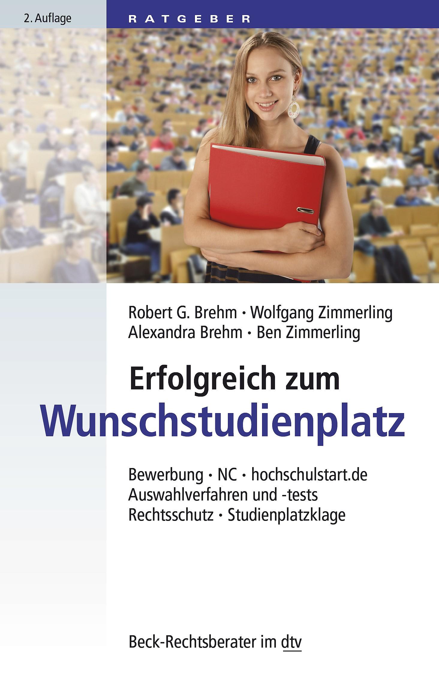Erfolgreich zum Wunschstudienplatz | Brehm / Zimmerling / Brehm-Kaiser / Zimmerling | 2., neu bearbeitete Auflage, 2015 | Buch (Cover)