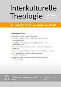 Interkulturelle Theologie. Zeitschrift für Missionswissenschaft 39 (2013) 4 (ZMiss) | / Appl, 2014 | Buch (Cover)