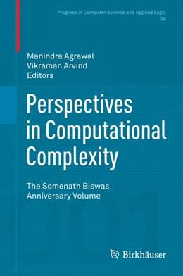 Abbildung von Agrawal / Arvind | Perspectives in Computational Complexity | 1. Auflage | 2014 | 26 | beck-shop.de