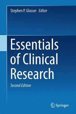 Abbildung von Glasser | Essentials of Clinical Research | 2014