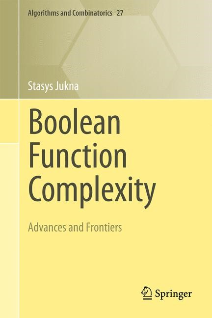 Boolean Function Complexity | Jukna, 2014 | Buch (Cover)