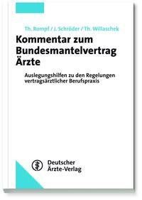 Kommentar zum Bundesmantelvertrag Ärzte | Rompf / Schröder / Willaschek | Loseblattwerk mit Aktualisierungen, 2014 (Cover)