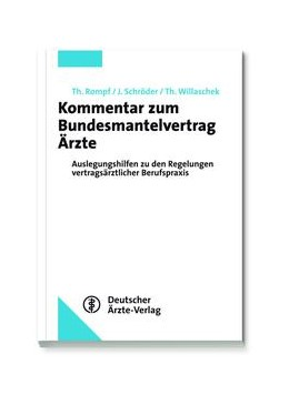 Abbildung von Rompf / Schröder | Kommentar zum Bundesmantelvertrag Ärzte | 1. Auflage | 2014 | beck-shop.de