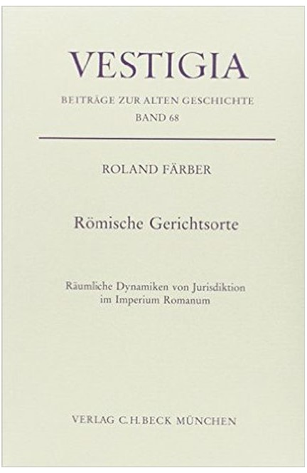 Cover: Roland Färber, Römische Gerichtsorte