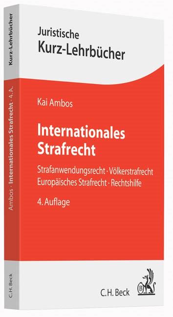 Internationales Strafrecht   Ambos   Buch (Cover)