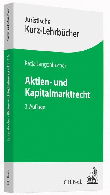 Aktien- und Kapitalmarktrecht | Langenbucher | Buch (Cover)