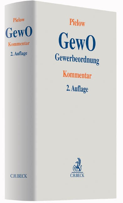 Gewerbeordnung: GewO | Pielow | 2. Auflage, 2016 | Buch (Cover)