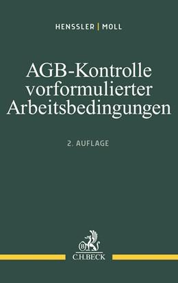 Abbildung von Henssler / Moll | AGB-Kontrolle vorformulierter Arbeitsbedingungen | 2. Auflage | 2020