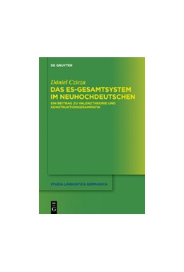 Abbildung von Czicza | Das es-Gesamtsystem im Neuhochdeutschen | 1. Auflage | 2014 | beck-shop.de