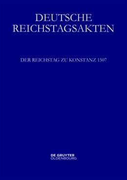 Abbildung von Heil | Der Reichstag zu Konstanz 1507 | 1. Auflage | 2014 | beck-shop.de