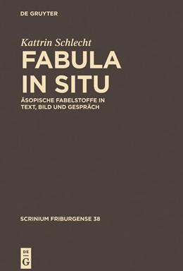 Abbildung von Schlecht | Fabula in situ | 2014 | Äsopische Fabelstoffe in Text,... | 37