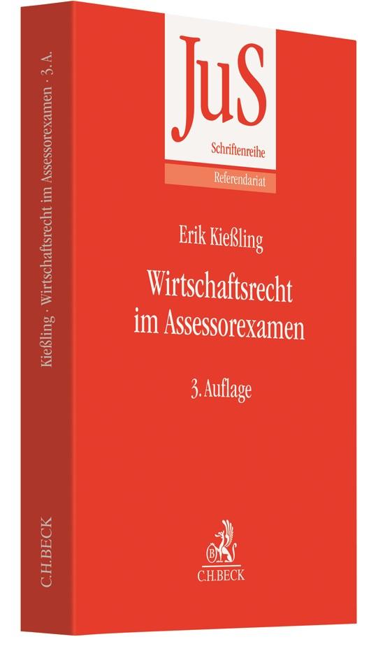 Wirtschaftsrecht im Assessorexamen | Kießling | 3. Auflage, 2019 | Buch (Cover)