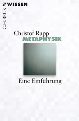 Abbildung von Rapp, Christof   Metaphysik   2016   2809