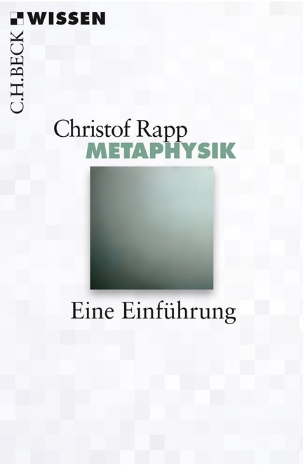 Cover: Christof Rapp, Metaphysik