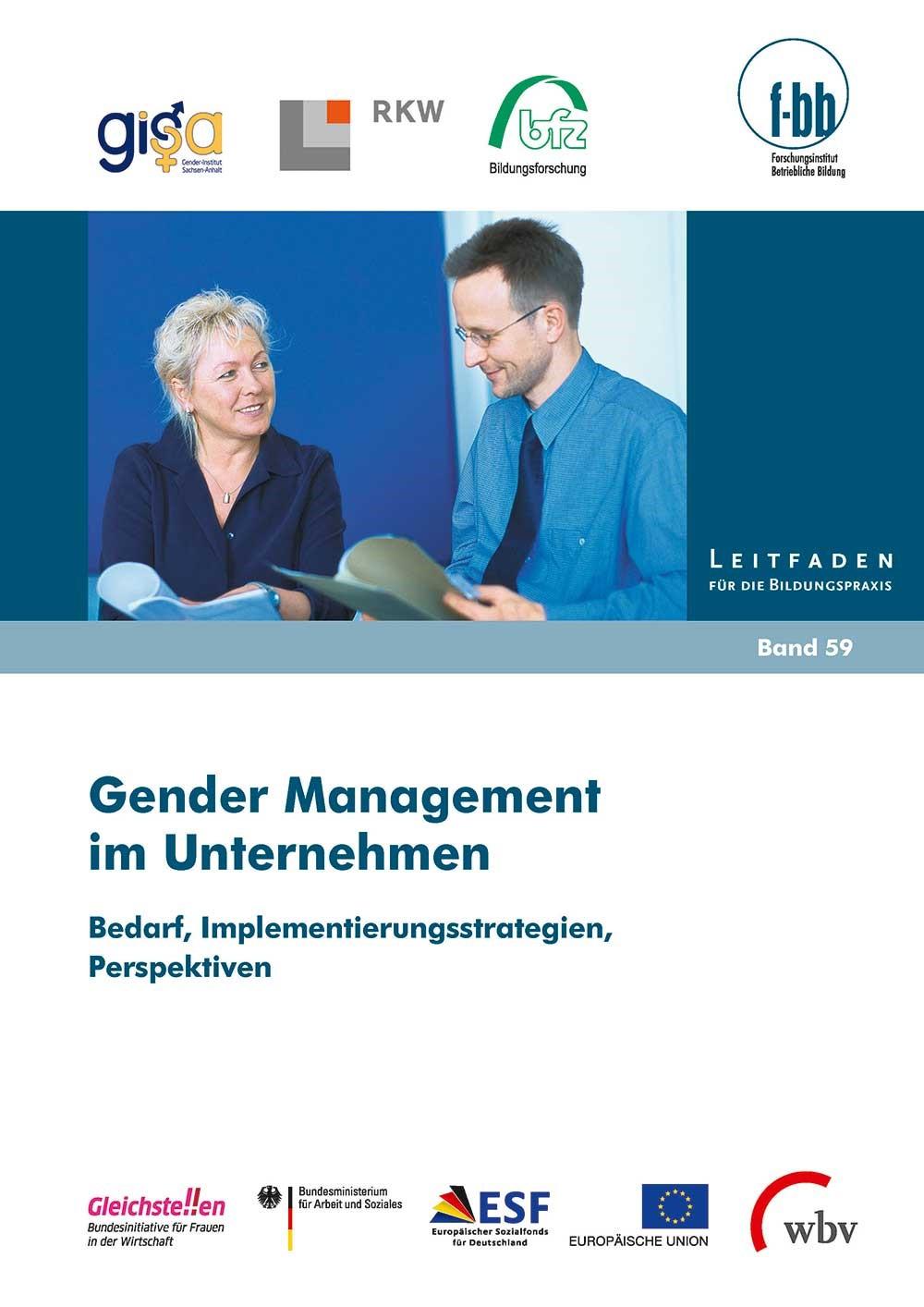 Gender Management im Unternehmen | Loebe / Severing, 2014 | Buch (Cover)