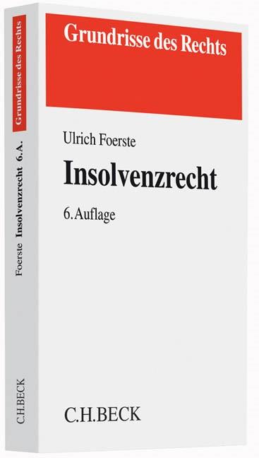 Insolvenzrecht | Foerste | Buch (Cover)