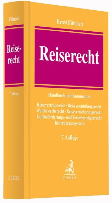 Reiserecht | Führich | Buch (Cover)