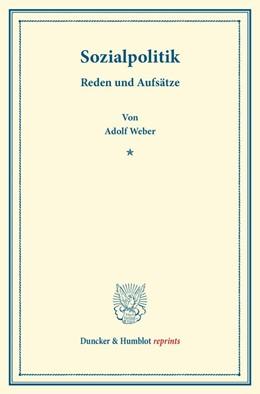 Abbildung von Weber | Sozialpolitik. | 1. Auflage | 2014 | beck-shop.de