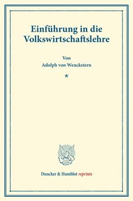 Abbildung von Wenckstern   Einführung in die Volkswirtschaftslehre   2014