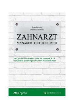 Abbildung von Pätzold / Henrici | Zahnarzt | Manager | Unternehmer Spezial | 1. Auflage | 2014 | beck-shop.de