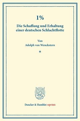 Abbildung von Wenckstern | 1% | 1. Auflage | 2014 | beck-shop.de
