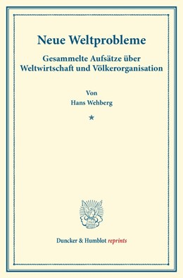 Abbildung von Wehberg | Neue Weltprobleme | 1. Auflage | 2014 | beck-shop.de