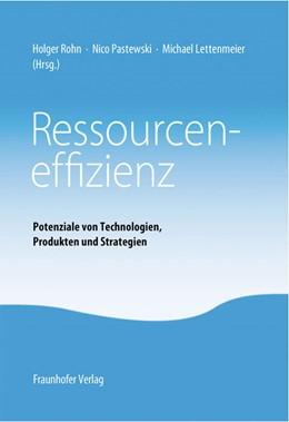 Abbildung von Rohn /  | Ressourceneffizienz. | 1. Auflage | 2013 | beck-shop.de