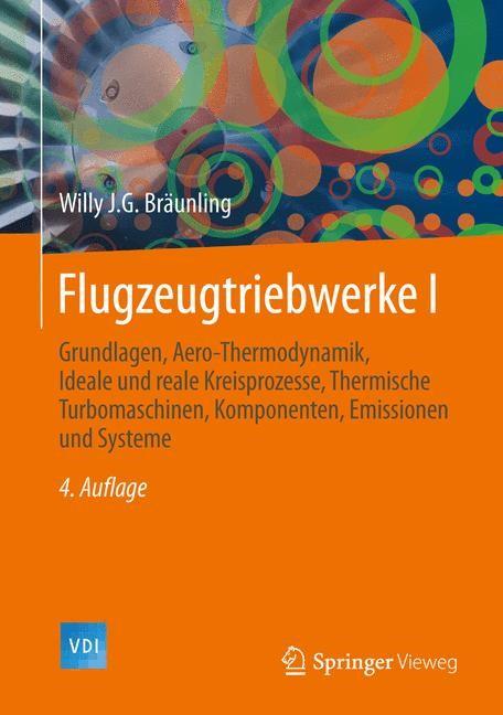 Flugzeugtriebwerke | Bräunling | 4. Auflage, 2015 | Buch (Cover)