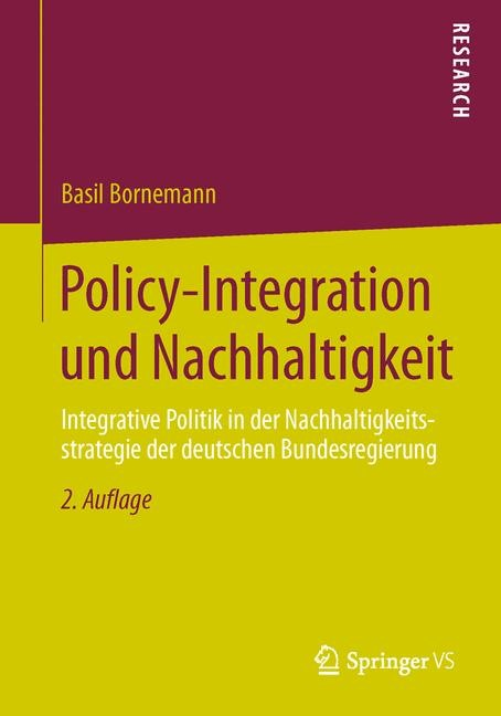 Abbildung von Bornemann   Policy-Integration und Nachhaltigkeit   2014