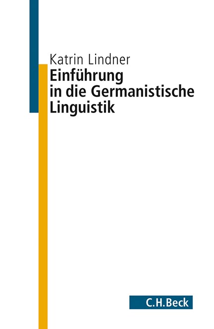 Cover: Katrin Lindner, Einführung in die germanistische Linguistik