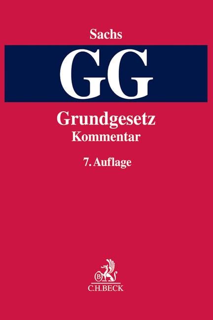 Grundgesetz: GG | Sachs | Buch (Cover)