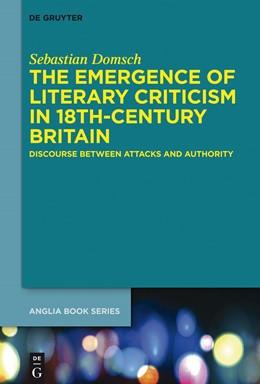 Abbildung von Domsch | The Emergence of Literary Criticism in 18th-Century Britain | 2014 | Forging Literary Criticism in ... | 47