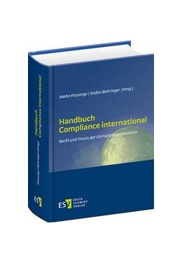 Abbildung von Passarge / Behringer (Hrsg.) | Handbuch Compliance international | 1. Auflage | 2015 | beck-shop.de