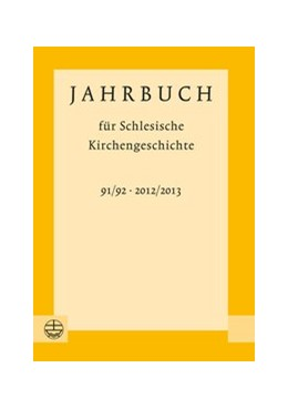 Abbildung von Wendebourg | Jahrbuch für Schlesische Kirchengeschichte | 2014