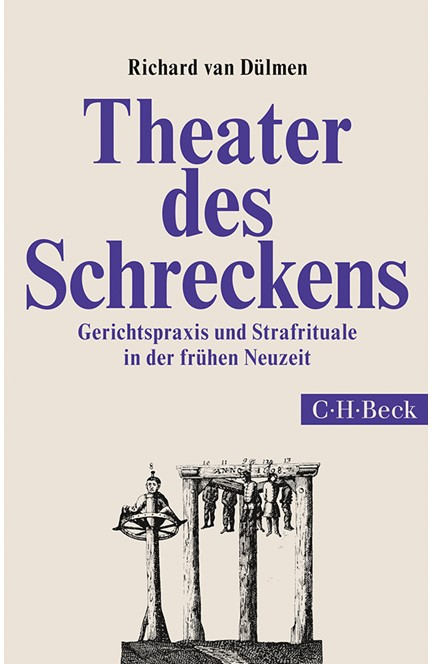 Cover: Richard Dülmen, Theater des Schreckens