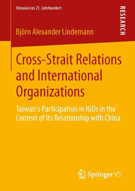 Cross-Strait Relations and International Organizations | Lindemann, 2014 | Buch (Cover)